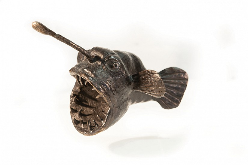 DAVID J. BROWN, ANGLER FISH ED. 1/9 BRONZE