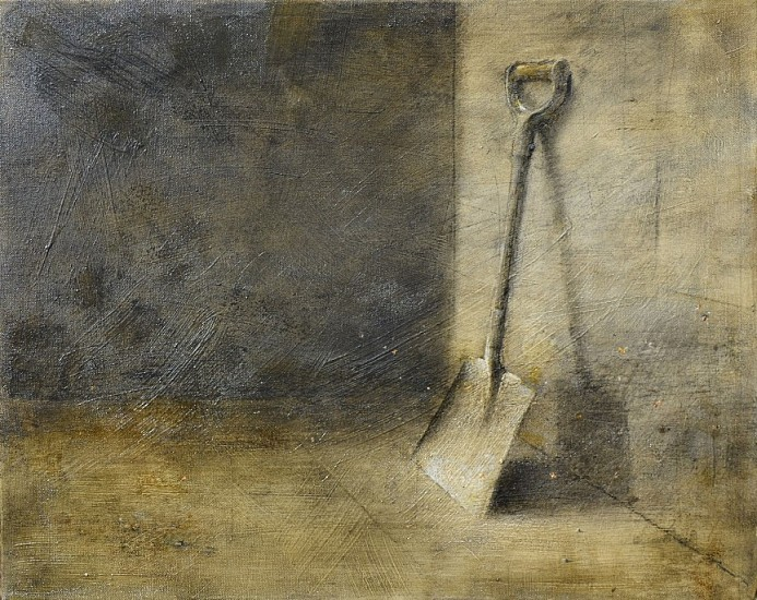 HAROLD VOIGT, SPADE OIL  ON CANVAS
