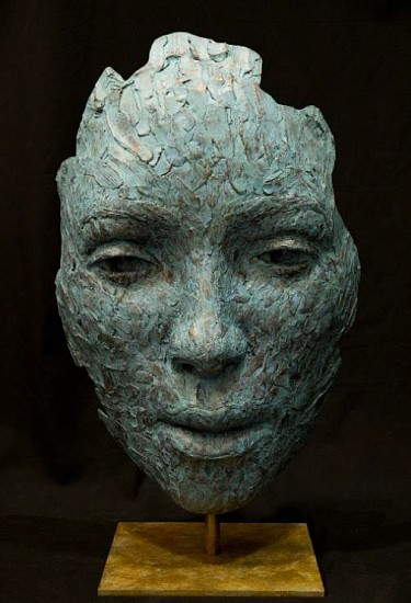 LIONEL SMIT, OCCURRENCE MASK 2019, BRONZE