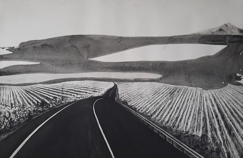 SETLAMORAGO MASHILO, Hartseerland, Right through 2020, CHARCOAL AND INK ON FABRIANO