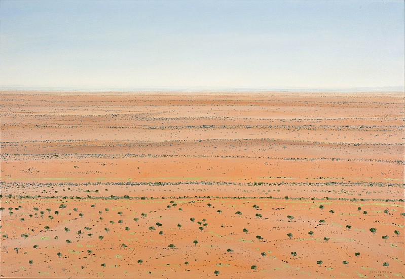 BRUCE BACKHOUSE, Dunes without Boundaries,Tswalu 2019, OIL  ON CANVAS