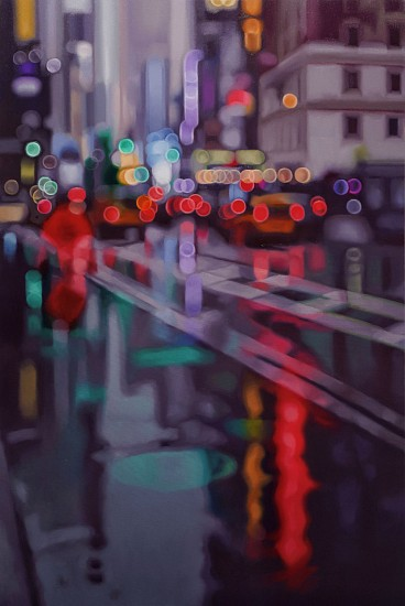 PHILIP BARLOW, broadway 2020, OIL ON CANVAS
